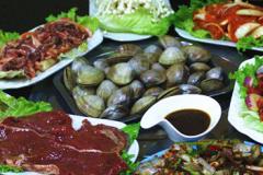 丹东肥蚬子烤肉